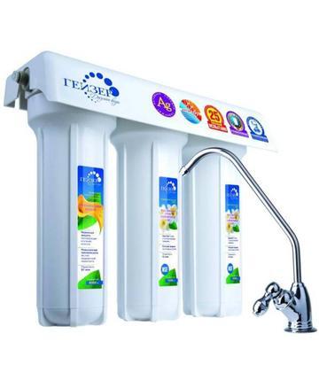 Фильтр для воды Гейзер 3 ИВЖ Люкс (кран 3)